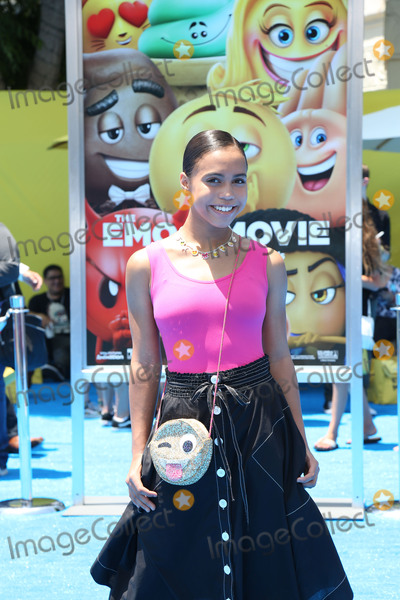 Asia Monet Photo - 23 July 2017 - Los Angeles California - Asia Monet Ray Premiere Of Columbia Pictures And Sony Pictures Animations The Emoji Movie held at Regency Village Theatre - Westwood CA Photo Credit PMAAdMedia