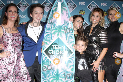 Andrea Barber Photo - 31 July 2016 - Inglewood California - Andrea Barber Michael Campion Soni Nicole Bringas Elias Harger Candace Cameron-Bure and Jodie Sweetin Teen Choice Awards 2016 held at The Forum Photo Credit AdMedia