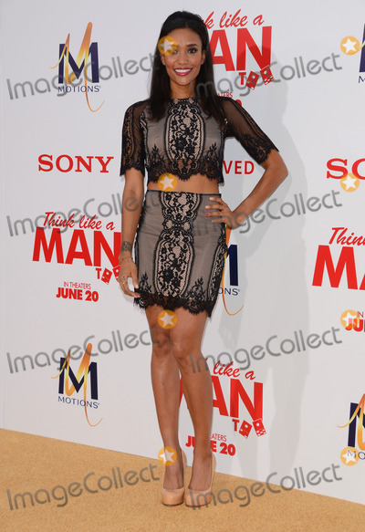 Annie  Ilonzeh Photo - 09 June 2014 - Hollywood California - Annie Ilonzeh Arrivals for the Los Angeles premiere of Screen Gems Think Like A Man Too at the TCL Chinese Theater in Hollywood Ca Photo Credit Birdie ThompsonAdMedia