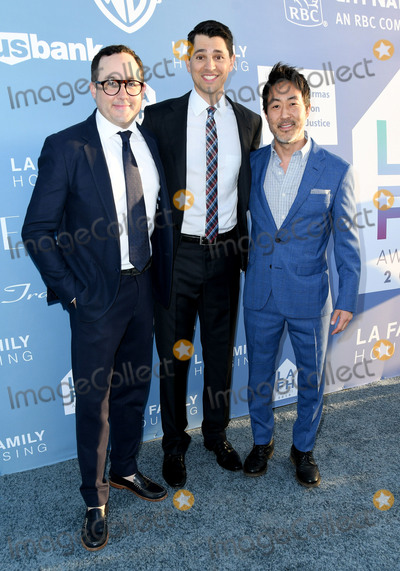 Kenneth Choi Photo - 25 April 2019 - Los Angeles California - PJ Byrne Nick DAgosto Kenneth Choi LA Family Housing Annual LAFH Awards And Fundraiser Celebration held at The Lot Photo Credit Birdie ThompsonAdMedia