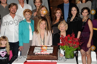 Jeanne Cooper Photo - 08 May 2013 - Actress Jeanne Cooper Dies At 84 File photo 24 March 2011 - Los Angeles California - Samantha Bailey Stephen Nichols Jeanne Cooper Eileen Davidson Maria Bell Tracey Bregman Lee Phillip Bell Eden Riegel and Emily OBrien Cake Cutting Ceremony to Commemorate The Young And The Restless 38th Anniversary held at CBS Television City Photo Credit Byron PurvisAdMedia