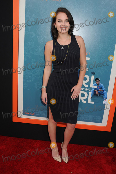 Arden Rose Photo - 3 June 2015 - West Hollywood California - Arden Rose Me And Earl And The Dying Girl Los Angeles Premiere held at the Harmony Gold Theatre Photo Credit Byron PurvisAdMedia