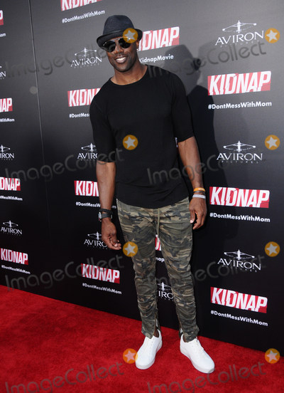 Terrell Owens Photo - 31 July 2017 - Hollywood California - Terrell Owen  Kidnap Los Angeles premiere held at Arclight Hollywood in Hollywood Photo Credit Birdie ThompsonAdMedia