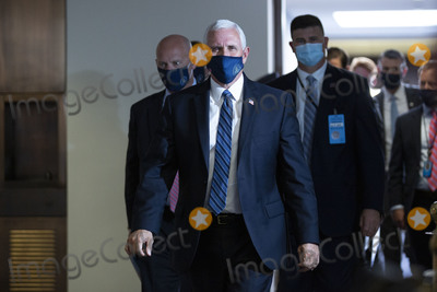 Mike Pence Photo - United States Vice President Mike Pence departs GOP Policy Luncheons at the United States Capitol in Washington DC US on Wednesday June 24 2020  Credit Stefani Reynolds  CNPAdMedia