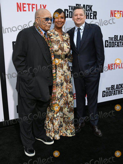 Nicole Avant Photo - 03 June 2019 - Los Angeles California - Quincy Jones Nicole Avant Ted Sarandos Netflixs The Black Godfather Los Angeles Premiere held at Paramount Theater Photo Credit Birdie ThompsonAdMedia