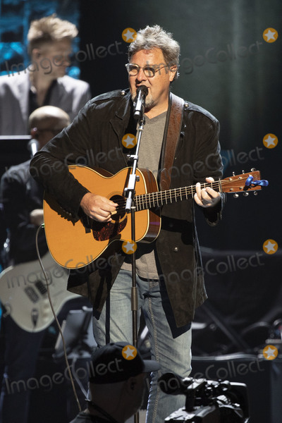 Vince Gill Photo - 30 April 2019 - Nashville Tennessee - Vince Gill performs at 35 Years of Friends Celebrating the Music of Michael W Smith held at Bridgestone Arena Photo Credit Frederick BreedonAdMedia