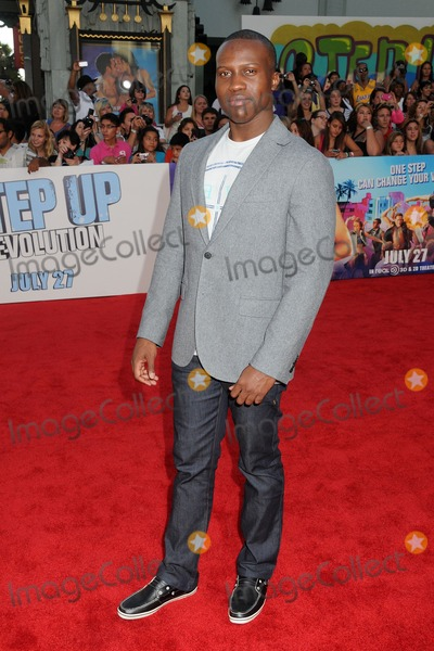 Amadou Ly Photo - 17 July 2012 - Hollywood California - Amadou Ly Step Up Revolution Los Angeles Premiere held at Graumans Chinese Theatre Photo Credit Byron PurvisAdMedia