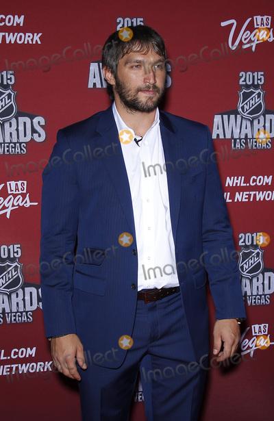 Alex Ovechkin Photo - 24 June 2015 - Las Vegas Nevada -  Alex Ovechkin 2015 NHL Awards Red Carpet Arrivals at MGM Grand Hotel and Casino  Photo Credit MJTAdMedia