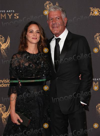 Anthony Bourdain Photo - 09 September 2017 - Los Angeles California - Anthony Bourdain Asia Argento 2017 Creative Arts Emmy Awards - Day 1 held at Microsoft Theater Photo Credit F SadouAdMedia