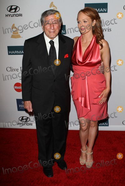 Antonia Bennett Photo - 11 February 2012 - Beverly Hills California - Tony Bennett Antonia Bennett Clive Davis And The Recording Academys 2012 Pre-GRAMMY Gala Held at Beverly Hilton Hotel Photo Credit Kevan BrooksAdMedia