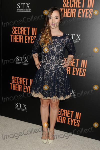 Alisha Marie Photo - 11 November 2015 - Westwood California - Alisha Marie Secret In Their Eyes Los Angeles Premiere held at The Hammer Museum Photo Credit Byron PurvisAdMedia