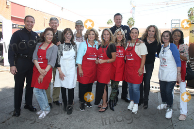 Anne-Marie Johnson Photo - 06 September 2018-  Hollywood California - Leron Gubler Kate Linder Amy Aquino Anglica Mara Erin Murphy Ellen K Angelica Vale Catherine Bach Ana Martinez Anne-Marie Johnson Captain Cory Palka At Hollywood Chamber Of Commerces 24th Annual Police and Firefighter appreciation Day held at LAPD Hollywood Division Photo Credit Faye SadouAdMedia