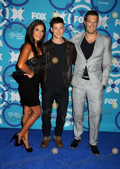 Angelique Cabral Photo - 9 September 2013 - Santa Monica California - Angelique Cabral Parker Young Geoff Stults 2013 FOX Fall Eco-Casino Party held at The Bungalow Photo Credit Byron PurvisAdMedia