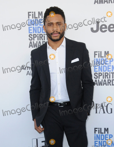Nnamdi Asomugha Photo - 25 February 2017 - Santa Monica California - Nnamdi Asomugha 2017 Film Independent Spirit Awards held held at the Santa Monica Pier Photo Credit Birdie ThompsonAdMedia