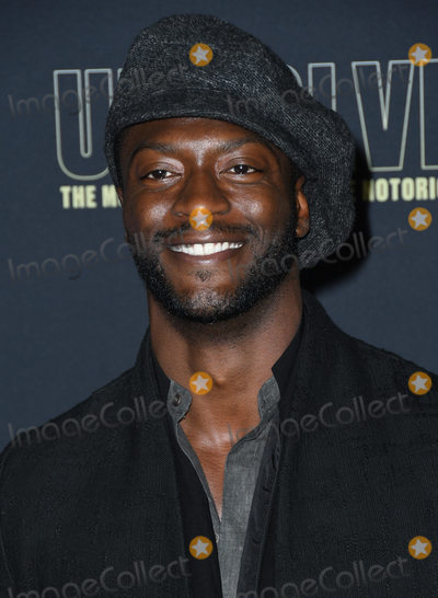 Aldis Hodge Photo - 22 February 2018 - Hollywood California - Aldis Hodge USA Networks Unsolved The Murders of Tupac  The Notorious BIG held at Avalon Hollywood Photo Credit Birdie ThompsonAdMedia