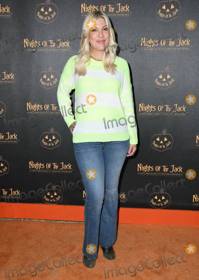 Tori Spelling Photo - 02 October 2019 - Calabasas California - Tori Spelling Nights of the Jack s Friends and Family VIP Preview Night held at The King Gillette Ranch Photo Credit Birdie ThompsonAdMedia