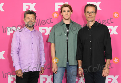 Andy Serkis Photo - 06 August 2019 - Beverly Hills California - Andy Serkis Joe Alwyn Guy Pearce 2019 FX Networks Summer TCA held at Beverly Hilton Hotel Photo Credit Birdie ThompsonAdMedia