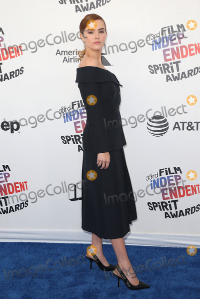 Zoey Deutch Photo - 03 March 2018 - Santa Monica California - Zoey Deutch 33rd Annual Film Independent Spirit Awards held at the Santa Monica Pier Photo Credit F SadouAdMedia