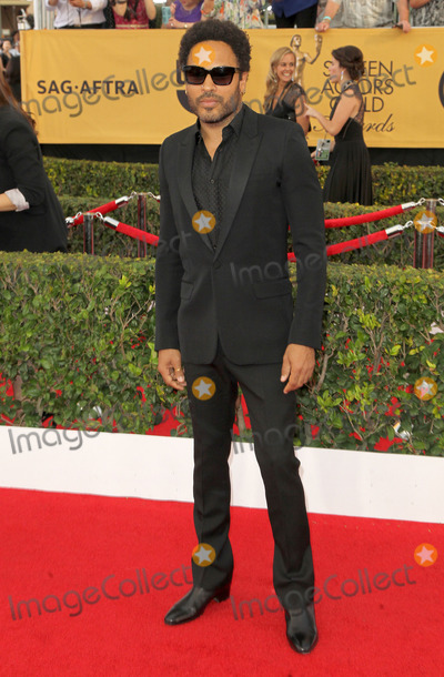 Lenny Kravitz Photo - 25 January 2015 - Los Angeles California - Lenny Kravitz 21st Annual Screen Actors Guild Awards - Arrivals held at The Shrine Auditorium Photo Credit F SadouAdMedia