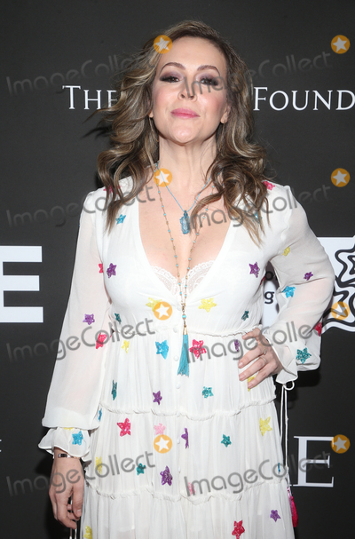 Alyssa Milano Photo - 15 January 2020 - Los Angeles California - Alyssa Milano CORE Gala A Gala Dinner to Benefit CORE and 10 Years of Life-Saving Work Across Haiti  Around the World held at the Wiltern Theatre Photo Credit FSAdMedia