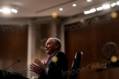 Foreigner Photo - United States Senator Tim Kaine (Democrat of Virginia) speaks during a Senate Committee on Foreign Relations hearing on US Policy in the Middle East on Capitol Hill in Washington DC on September 24 2020Credit Erin Schaff  Pool via CNPAdMedia