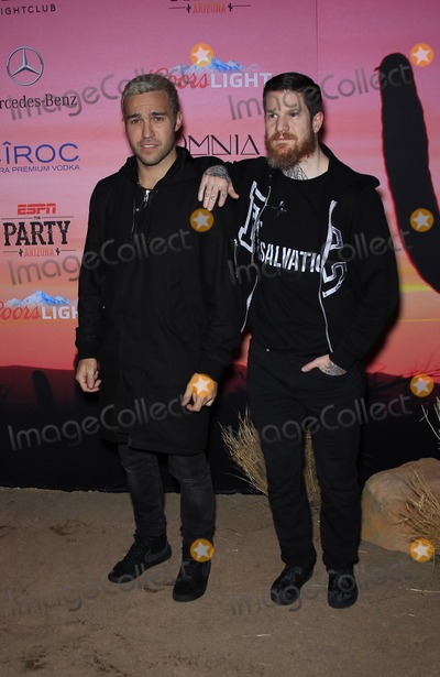 Andy Hurley Photo - 30 January 2015 - Scottsdale AZ -  Pete Went Andy Hurley  ESPN The Party at WestworldPhoto Credit mjtAdMedia