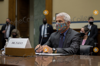 Anthony Fauci Photo - Dr Anthony Fauci Director of the National Institute of Allergy and Infectious Diseases at the National Institutes of Health attends the US House Select Subcommittee on the Coronavirus Crisis hearing on the Capitol Hill in Washington on Thursday April 15 2021 Credit Amr Alfiky  Pool via CNPAdMedia