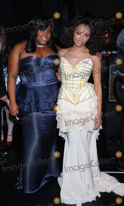 Amber Riley Photo - 4  March  2011- Los Angeles California -  Amber Riley and Kat Graham The 42nd NAACP Image Awards - Backstage  held at The Shrine Auditorium Photo T ConradAdMedia