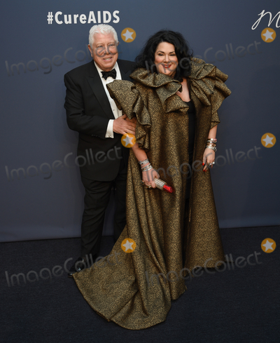 Ashley Longshore Photo - 05 February 2020 - New York New York - Dennis Basso and Ashley Longshore at the amfAR Gala New York 22nd Annual Benefit for AIDS Research at Cipriani Wall Street Photo Credit LJ FotosAdMedia