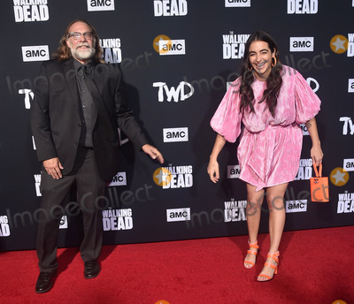 Alanna Masterson Photo - 24 September 2019 - Hollywood California - Greg Nicotero Alanna Masterson The Walking Dead Season 10 Los Angeles Premiere held at The TCL Chinese Theatre Photo Credit Birdie ThompsonAdMedia