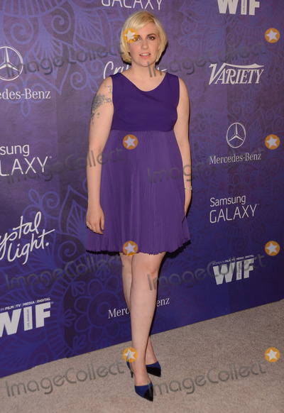 Lena Dunham Photo - 23 August 2014 - West Hollywood California - Lena Dunham Arrivals for Variety and Women in Films annual Pre-Emmy Celebration held the at Gracias Madre in West Hollywood Ca Photo Credit Birdie ThompsonAdMedia