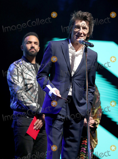 Ronnie Woods Photo - 11032020 - Craig David and Ronnie Wood at The Princes Trust Awards 2020 At The London Palladium Photo Credit ALPRAdMedia