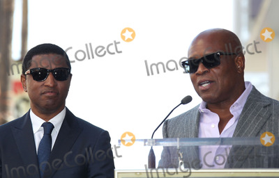 Antonio LA Reid Photo - 10 October 2013 - Hollywood California - Kenny Babyface Edmonds Antonio LA Reid  Kenny Babyface Edmonds Honored On The Hollywood Walk Of Fame Photo Credit Russ ElliotAdMedia