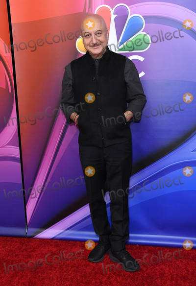Anupam Kher Photo - 20 February 2019 - Los Angeles California - Anupam Kher 2019 NBC LA Midseason Press Day held at Universal Studios Photo Credit Birdie ThompsonAdMedia