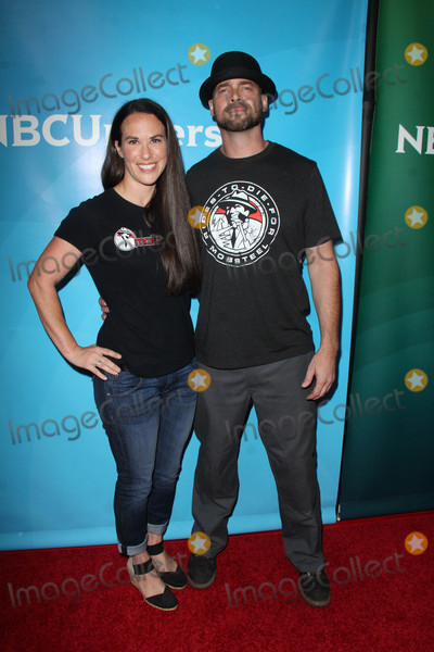 Adam Genei Photo - Pam Genei Adam Geneiat the NBCUniversal Press Tour Day 2 Beverly Hilton Beverly Hills CA 08-13-15