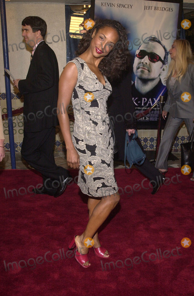 Trina McGee-Davis Photo -  Trina McGee Davis at the premiere of Universals K-PAX Manns Village Theater in Westwood 10-22-01