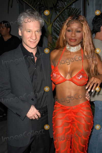 Coco Johnson Photo - Bill Maher and Coco Johnson at the 3rd Annual Angels on the Fairway Celebrity Golf Tournament Tee Off Party White Lotus Hollywood CA 06-12-03