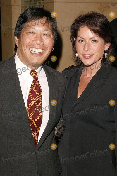 Andy Wing Photo - Andy Wing and wife at the Hollywood Reporters 33rd Annual Key Art Awards in the Kodak Theatre at the Hollywood  Highland Complex Hollywood CA 04-30-04