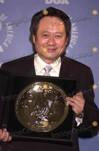 Ang Lee Photo -  Ang Lee at the 53rd Annual Directors Guild Awards Century Plaza Hotel 03-10-01
