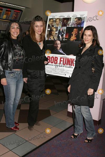 Anastasia Fontaines Photo - Anastasia Fontaines with Silvia Suvadova and Sarah Lassezat the Los Angeles Premiere Of Bob Funk Laemmles Sunset 5 Theatres Los Angeles CA 02-27-09
