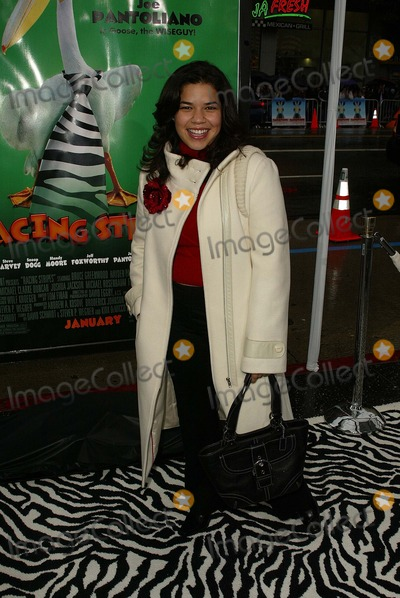 America Ferrera Photo - America Ferrera at the World Premiere of Warner Bros Racing Stripes at the Chinese Theater Hollywood CA 01-08-05