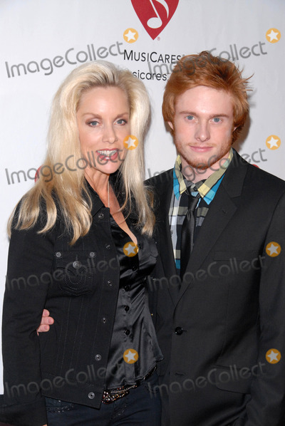 Cherie Currie Photo - Cherie Currie and son Jakeat the 6th Annual Musicares MAP Fund Bevefit Concert celebrating women in  recovery Club Nokia Los Angeles CA 05-07-10