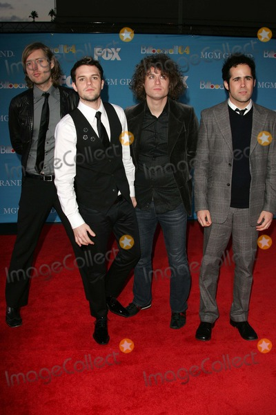 The Killers Photo - The Killers at the 2004 Billboard Music Awards - Arrivals MGM Grand Garden Arena Las Vegas NV 12-08-04