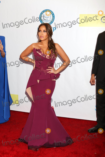 Adrienne Bailon Photo - Adrienne Bailonat the 48th NAACP Image Awards Arrivals Pasadena Conference Center Pasadena CA 02-11-17