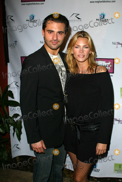 Liam Waite Photo - Liam Waite and Natasha HenstridgeAt the Meghan Fashion Week Wrap Party Cabana Club Hollywood CA 10-21-05