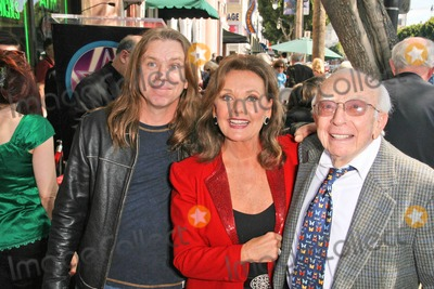 Dawn Wells Photo - Patrick Denver with Dawn Wells and Sherwood Schwartz at the Hollywood Walk of Fame Ceremony Honoring Sherwood Schwartz Hollywood Boulevard Hollywood CA 03-07-08