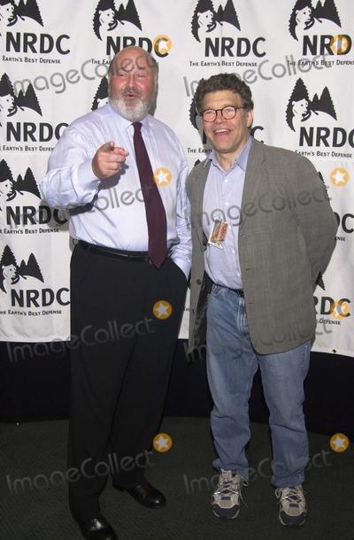 Al Franken Photo -  Rob Reiner and Al Franken at the Natural Resources Defense Councils Earth To LA benefit held in Los Angeles 05-31-00