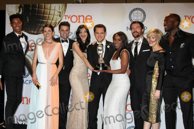 Alfred Enoch Photo - Alfred Enoch Karla Souza Jack Falahe Katie Findlay Matt McGorry Aja Naomi King Charlie Weber Liza Weil Billy Brownat the 46th NAACP Image Awards Press Room Pasadena Convention Center Pasadena CA 02-06-15