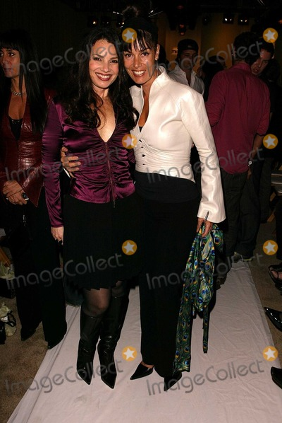 Brenda Cooper Photo - Fran Drescher and Brenda Cooper at the Nicole Miller Fashion Show as part of Mercedes Benz Fashion Week The Standard Los Angeles CA 10-29-03