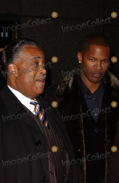 Al Sharpton Photo - Al Sharpton and Jamie Foxxat the Broadway Opening of The Color Purple The Broadway Theatre New York NY 12-01-05